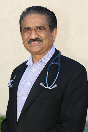 Mayur C. Patel, MD, of California Chest and Medical Center, Burbank, CA